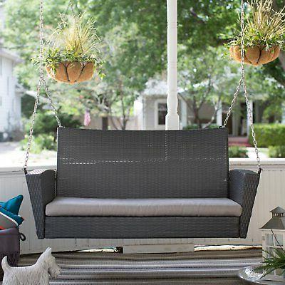 Coral Coast Porch Swing Cushion