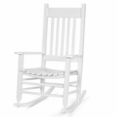 solid wood rocking chair porch rocker indoor