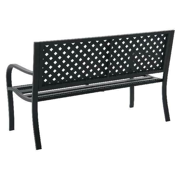 Mainstays Metal Garden Outdoor Chair Seating Yard