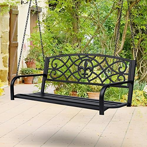 Outsunny Outdoor Porch Bench with