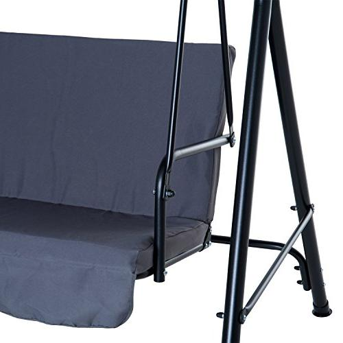 Outsunny Steel Outdoor Person Top Canopy - Grey