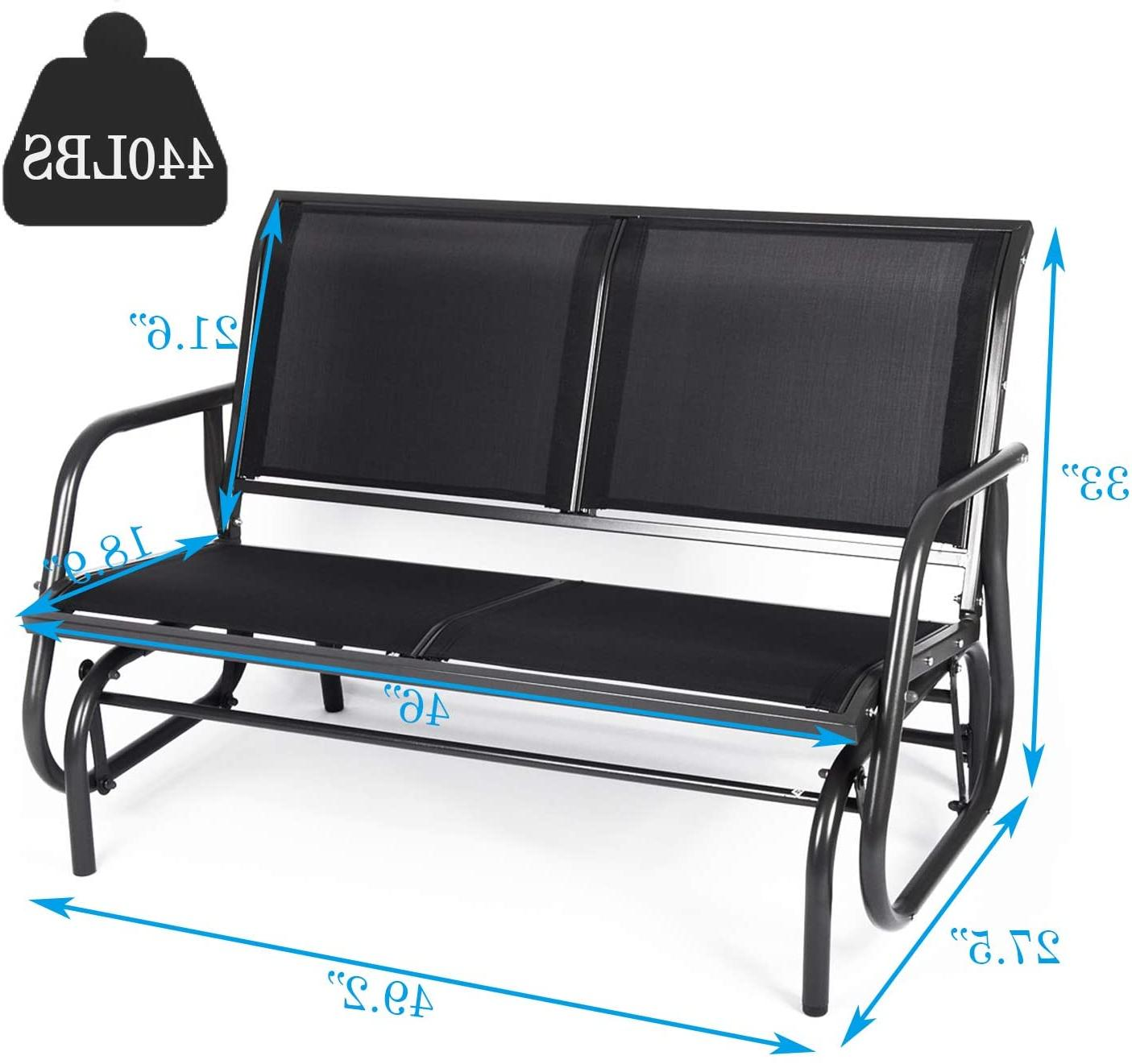 Livebest Swing Bench Double Porch Lounger