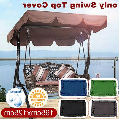 swing top seat cover canopy replacement porch