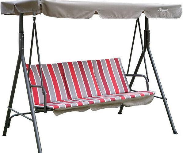 Cushion Steel 3 Adjustable Porch Patio