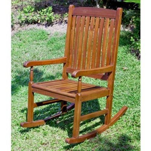 International Caravan Stained Acacia Chair