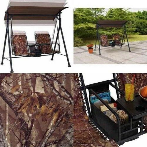 Two Seat With Pivoting Table Furniture 6 Camo Set