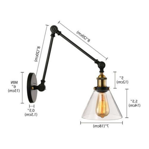 Vintage Glass Lamp Fixture