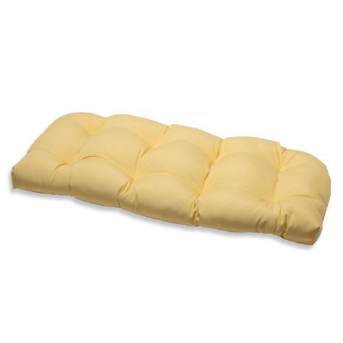 wicker loveseat cushion