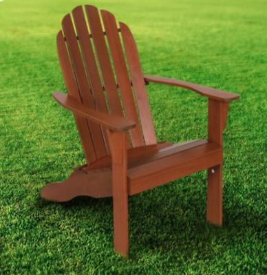 Wood Adirondack Chair Outdoor Patio Reclined Bench Porch