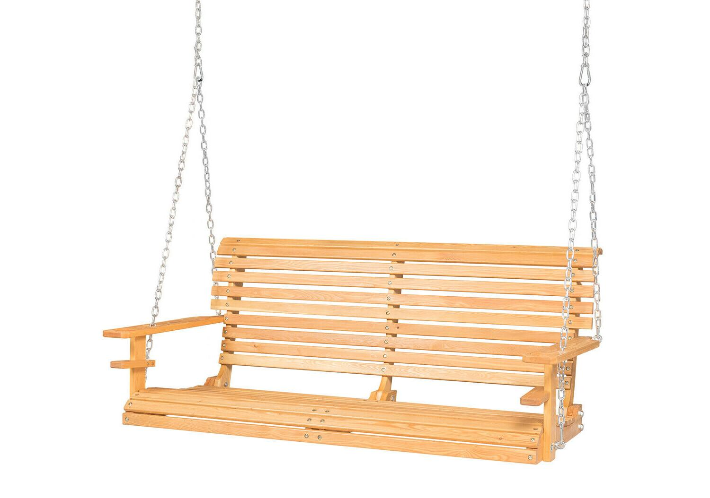 wood porch swing garden patio