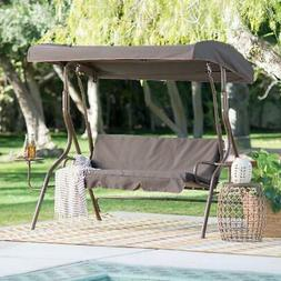 Coral Coast Lakewood 2 Person Adjustable Tilt Canopy Metal S