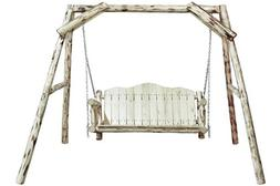 Montana Woodworks MWLS Montana Collection Lawn Swing, Ready
