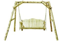 Montana Woodworks MWLSV Montana Collection Lawn Swing, Clear