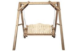88 in. Lawn Swing with A-Frame
