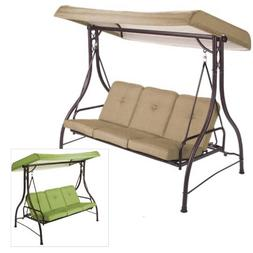 Garden Winds Lawson Ridge 3-Person Swing Replacement Canopy-