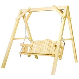 Montana Woodworks MWHCLSVAZ Lawn Swing, Clear Exterior Finis