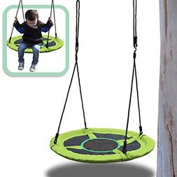 "BenefitUSA 40"" Net Swing Saucer Spinner Swing Easy Installat"