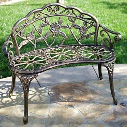 "NEW 39"" Antique Design Style Patio Porch Garden Bench Cast A"
