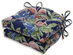NEW~Pillow Perfect Chair CUSHION Pad~FLAMINGOS~Flamingoing L