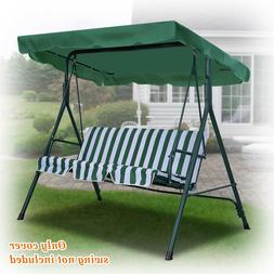 "NEW Patio Outdoor 77""x43"" Swing Canopy Replacement Porch Top"