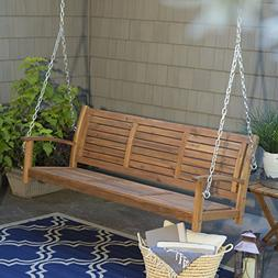 norwood horizontal slat back porch