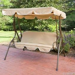 Outdoor Canopy Swing Garden Porch Patio Metal Backyard Loves