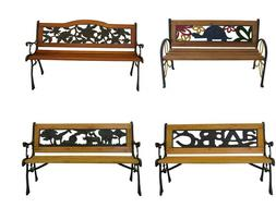 outdoor cast iron park porch chair patio