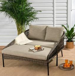 Outdoor Daybeds For Patio Clearance Porch Day Bed Lounge 2 P