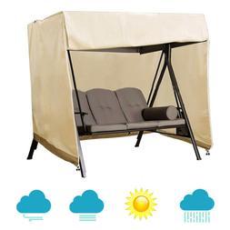 Outdoor Furniture Set Patio Swing Cover 3-Seat Swing Hammock