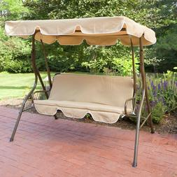 Outdoor Ginger Cove 2 Person Canopy Sling Swing Patio Furnit