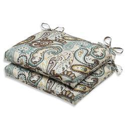Pillow Perfect Outdoor/Indoor Tamara Paisley Quartz Square C