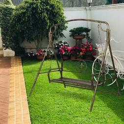 Outdoor Porch Swing Bench Patio  Hammock Chair Hanging Seat