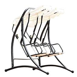 allgoodsdelight365 Outdoor Patio 2 Person Swing Chair Porch