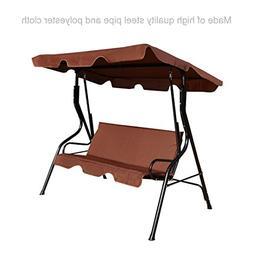 koonlert14 Outdoor Patio Canopy Swing Glider Hammock Cushion