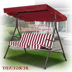 """Patio Outdoor 73""""x52"""" Swing Canopy Replacement Porch Top Cov"""