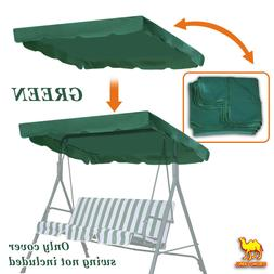 """Patio Outdoor 77""""x43"""" Swing Canopy Replacement Porch Top Cov"""
