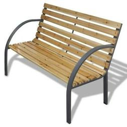 Patio Park Garden Bench Porch Path Chair Furniture Cast Iron