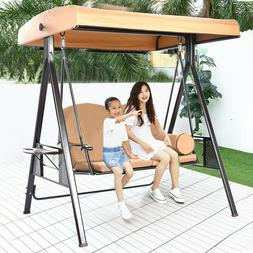 Patio Porch Hanging Swing Chair Garden Deck Yard Bench Seat
