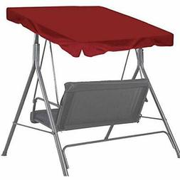 """Patio Porch Swings Outdoor 65""""x45"""" Canopy Replacement Top Co"""