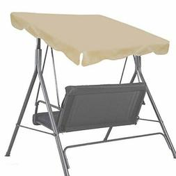 "BenefitUSA Patio Outdoor 73""x52"" Swing Canopy Replacement Po"