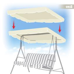 """Strong Camel New Patio Outdoor 77""""x43"""" Swing Canopy Replacem"""