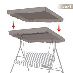 "BenefitUSA Patio Outdoor 77""x43"" Swing Canopy Replacement Po"