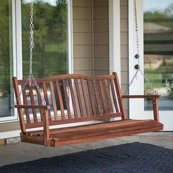 Belham Living Pearson Curved Back Porch Swing