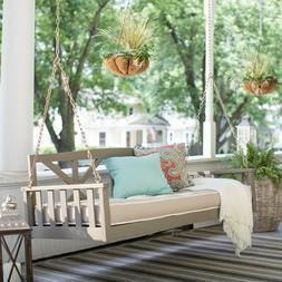 Porch Living Relax Seating Swing Bed Cushion Sleeping Comfor