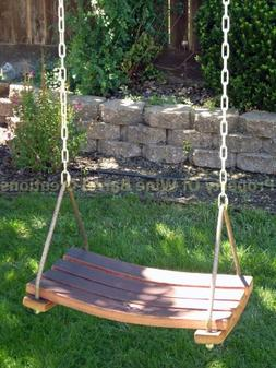 Porch Swing, Tree Swing Made From Wine Barrel Staves By Wine