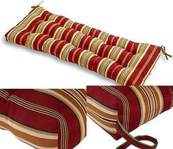 Porch Swing Cushion Padding Outdoor Patio Pillow Bench Seat