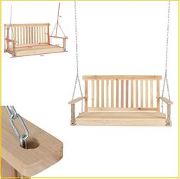 porch swing hanging wood swings patio furniture