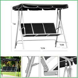 Porch Swing Patio Swings With Canopy Outdoor Metal Furniture