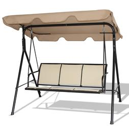 Porch Swings Outdoor Clearance Front Canopy With Stand 3 Per