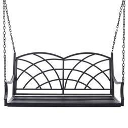 Porch Swings Outdoor Clearance Metal Front Hanging Patio Fur